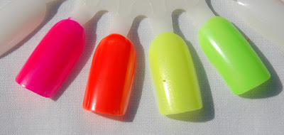 primark, primark nail polish, neon nails, cheap neon polish, bright nail