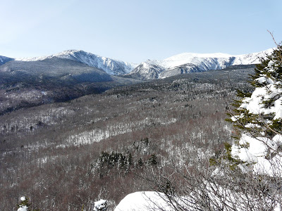View from Lila's Ledge, White Mountains, NH