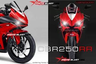 Hasil Renderan CBR250RR Motoblast