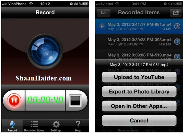 How to record your iPhone and iPad screen with Display Recorder