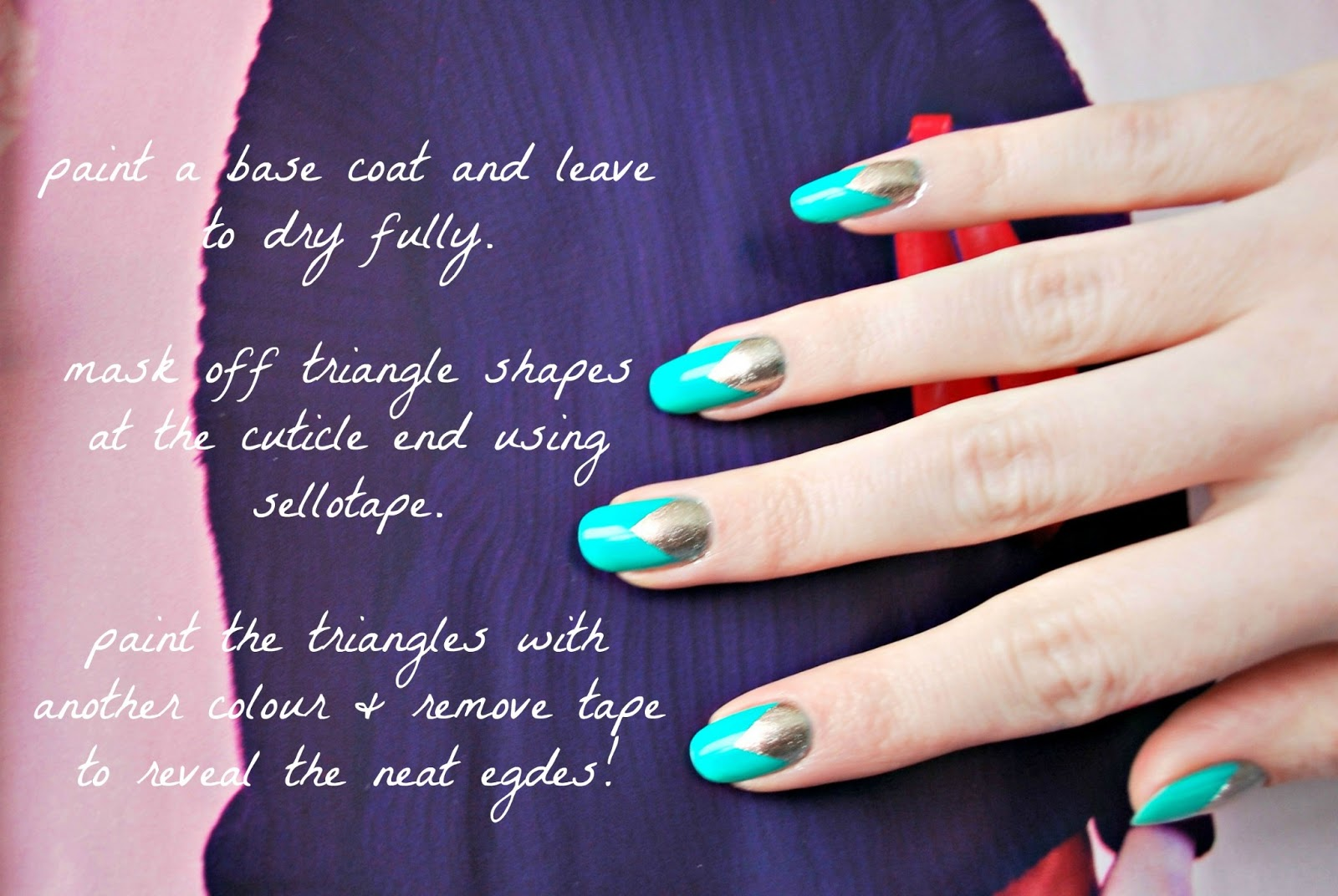 Easy 2 color nail designs nails gallery easy 2 color nail designs pictures prinsesfo Gallery