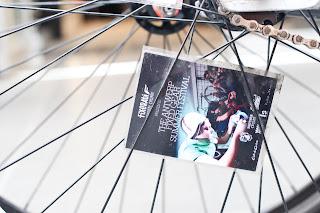cinelli, mash, bicycle, the biketorialist, biketorialist, fixed speed, fixie, grey , frame, tim macauley, timothy macauley, model, frame, Melbourne,  Australia, spoke, wheel, card,