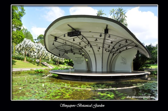 Shaw Foundation Shympony Stage, Singapore, Singapore Botanical Garden