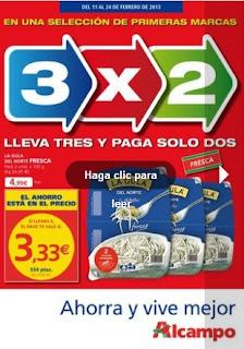 Catalogo alcampo ofertas 3x2 2-2013