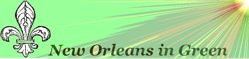New Orleans in Green