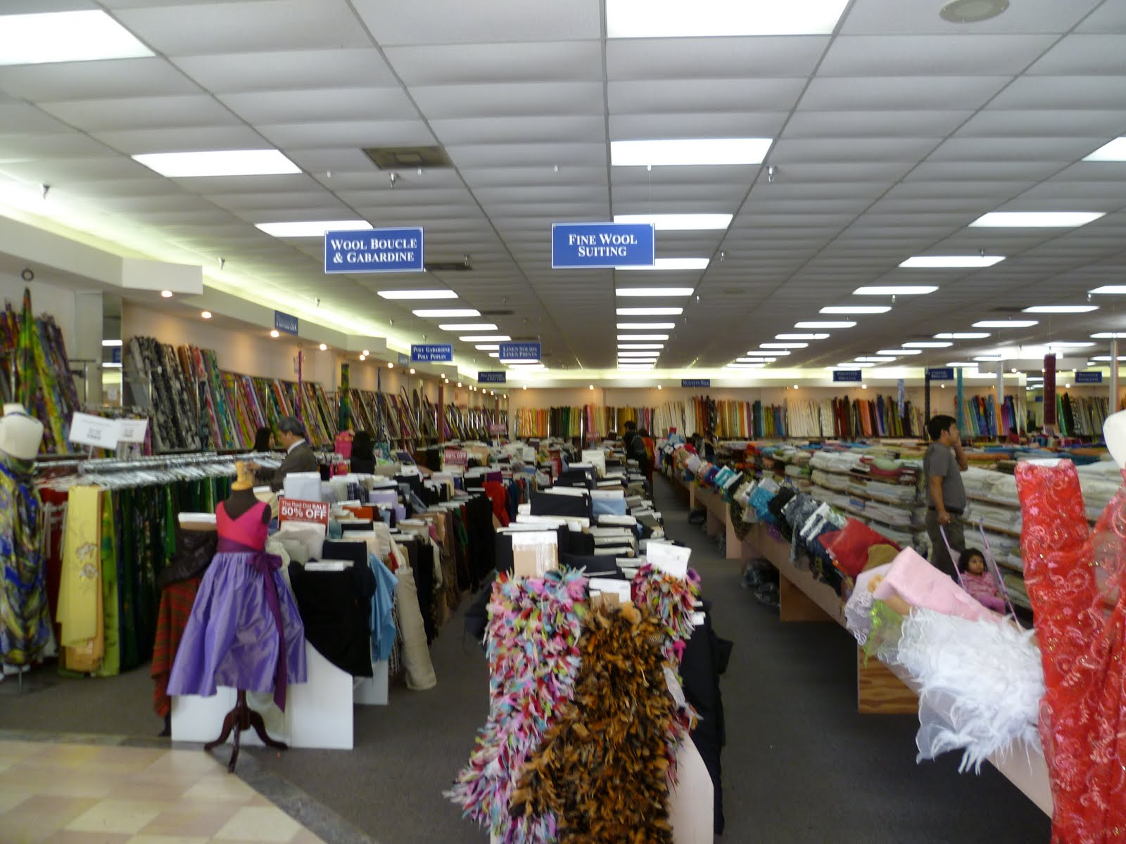 High Fashion Fabric Houston - This is high fashion fabrics insert angel choir music here there s a whole wall of embroidered silks and the wool gabardine section is separate from the