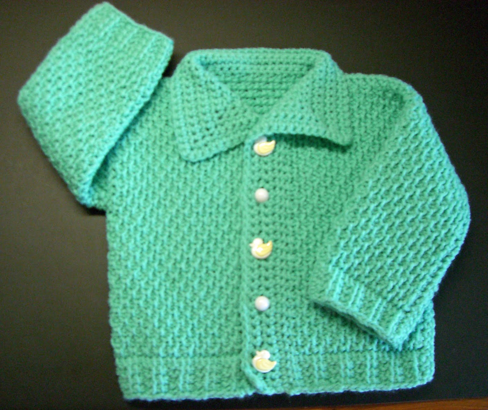 5188ea131 One (More) Yarn After Another  Ayasha Baby Cardigan Pattern in ...