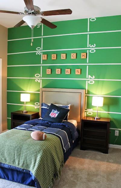 Boys Football Room Ideas for Bedroom