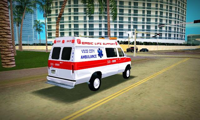 Ford E-250 Ambulância GTA Vice City
