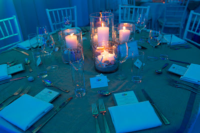 Table at Taste of Aruba Dinner - © Steven Freeman