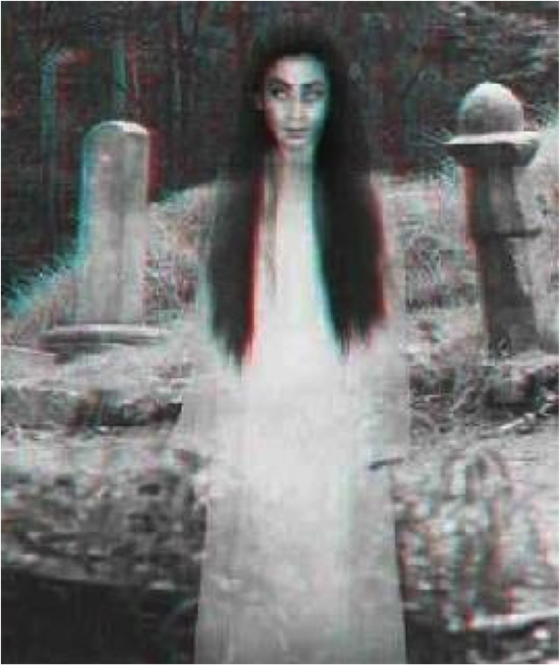 Kuntilanak adalah hantu yang wujudnya perempuan berambut panjang