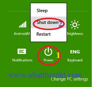 Những cách tắt máy - shut down trên windows 10 có thể bạn chưa thử