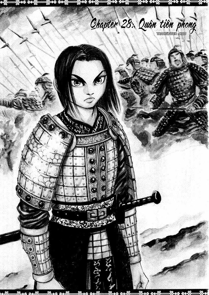 Kingdom - Vương Giả Thiên Hạ  Chapter 28 page 3 - IZTruyenTranh.com