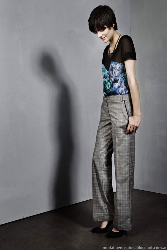 Pantaloens de vestir invierno 2014, Clara colección.