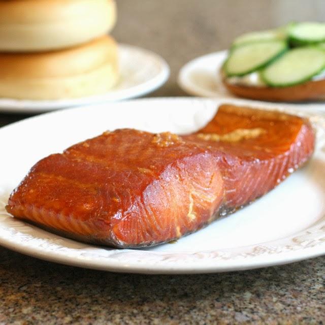 Savoury table finally some salmon i really like brown for Smoke fish brine