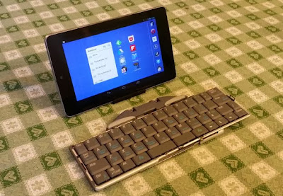 Nexus 7 with bluetooth keyboard