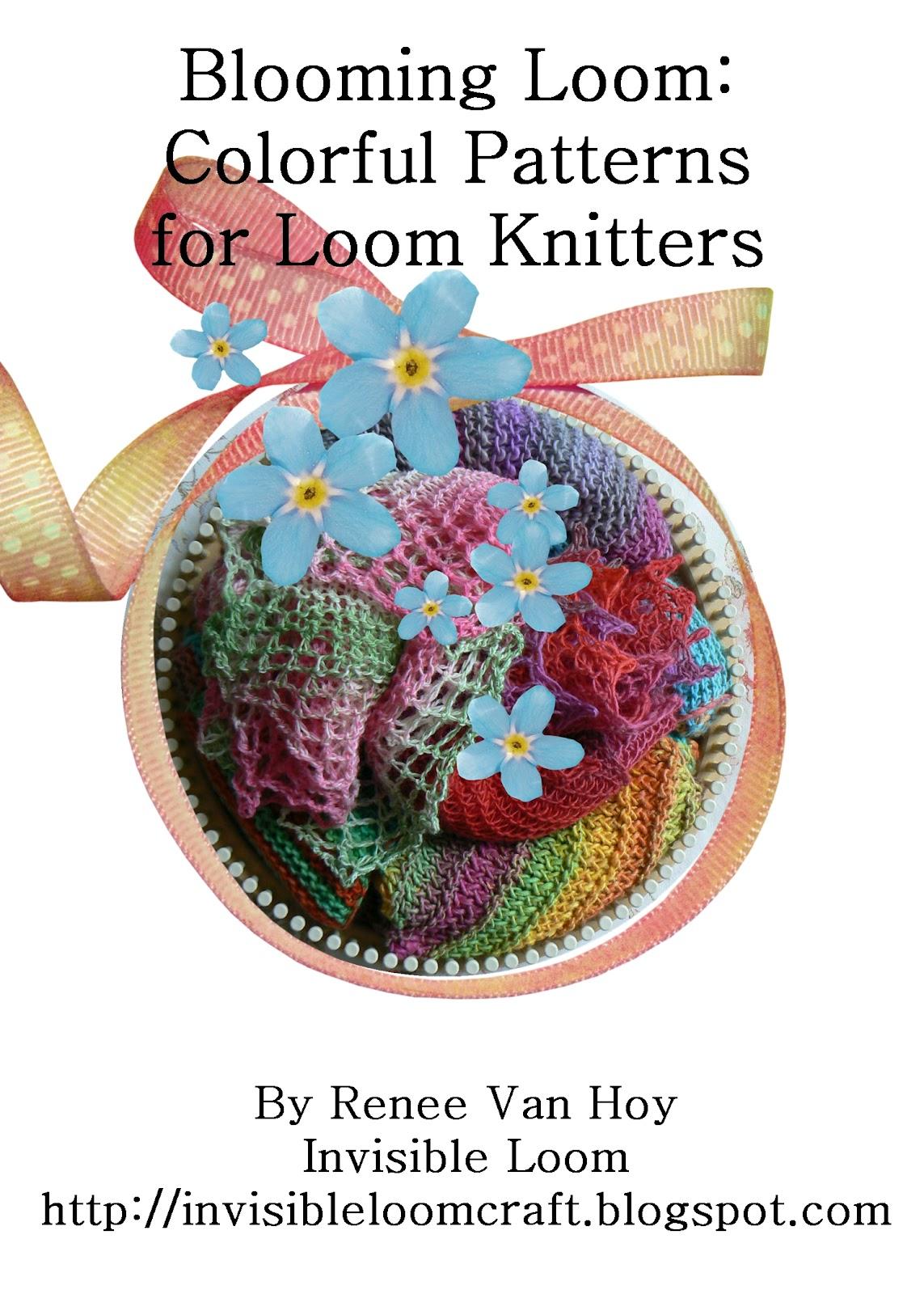 Loom Knitting Pattern Book Download : loom knitting primer and loom knitting pattern book she is ...
