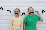 mustache felt garland 18.00