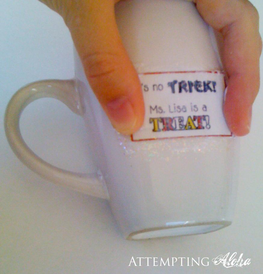 how to use mod podge on mugs