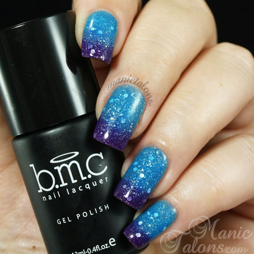 Gelaxy Gel Nail Polish: Manic Talons Nail Design: Bundle Monster Gel Polish