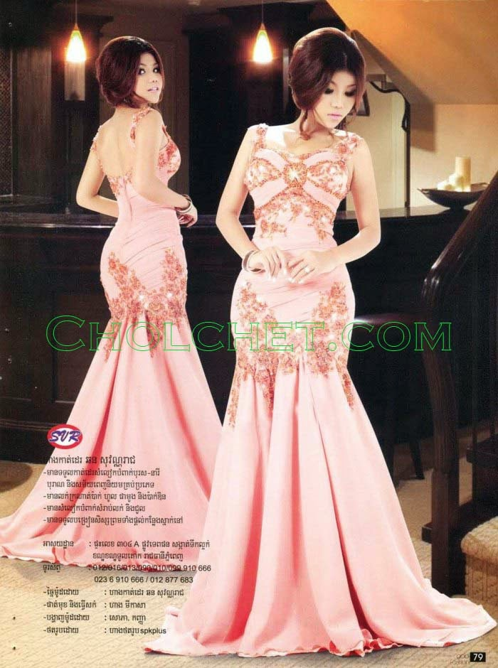 Khmer silk dress traditional modern top 10 dress for Cambodian wedding dresses sale
