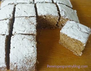 Penelope's Pantry Dorset Apple 'wacky' cake dairy free, egg free, vegan