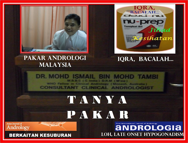 NU-PREP, CONSULT  A  SPECIALIST. TANYA PAKAR DR ISMAIL TAMBI