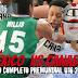Video : México vs Canadá en el PreMundial U16 (Partido Completo)