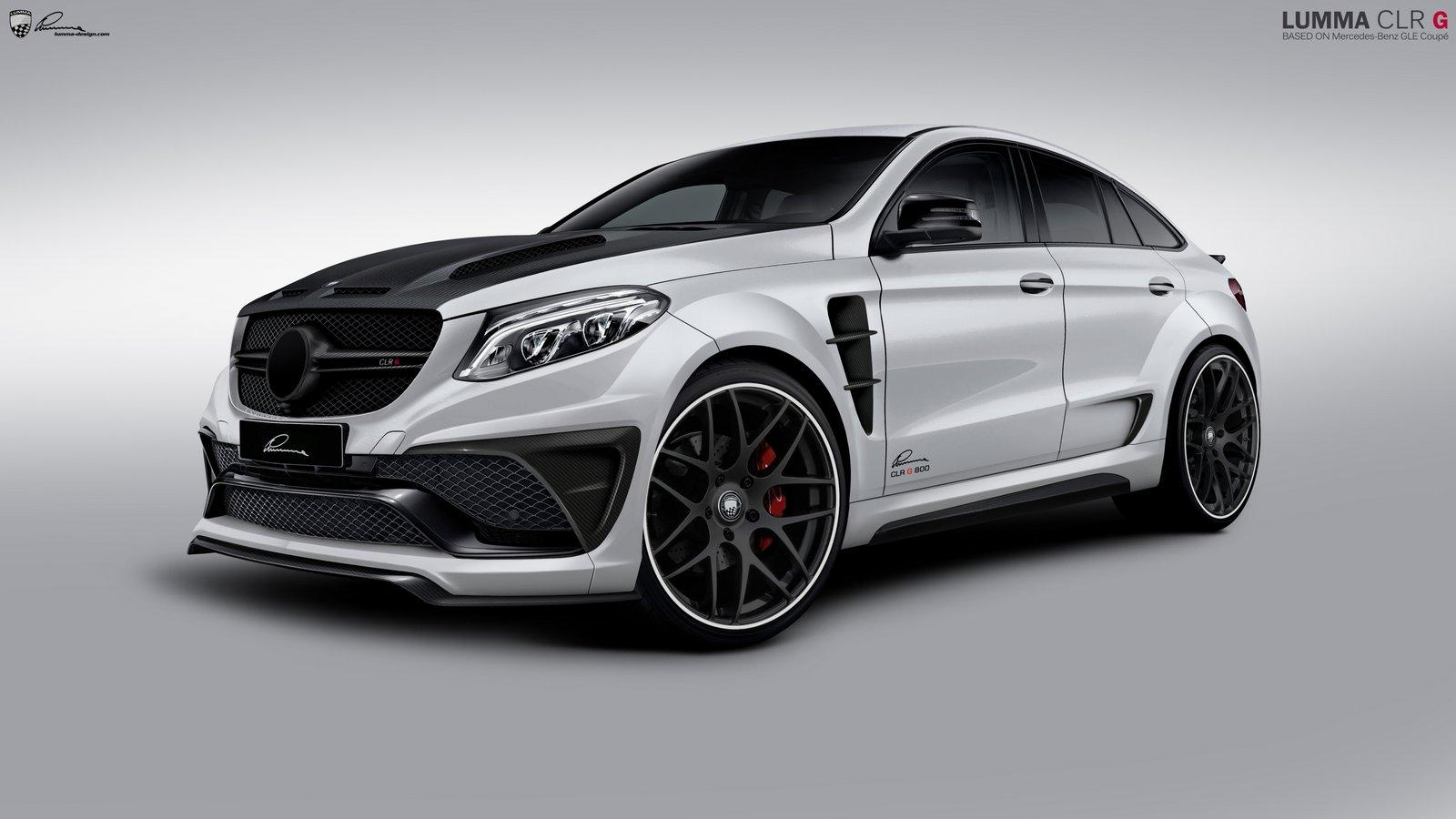 Mercedes Benz Gle 63 Amg By Lumma Benztuning