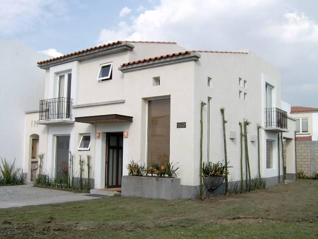 Fachadas de casas modernas fachada de residencia moderna con ...