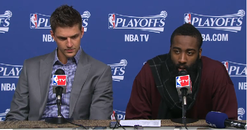 James Harden, Chandler Parsons Press Conference