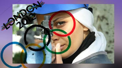Iranian female shooter in Olympics air rifle event's finals