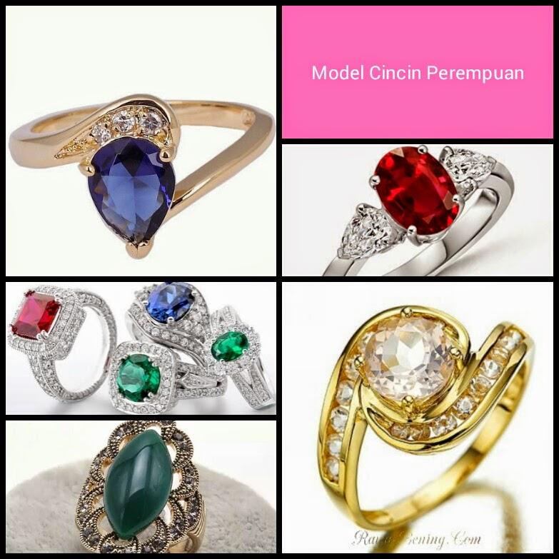 model cincin wanita