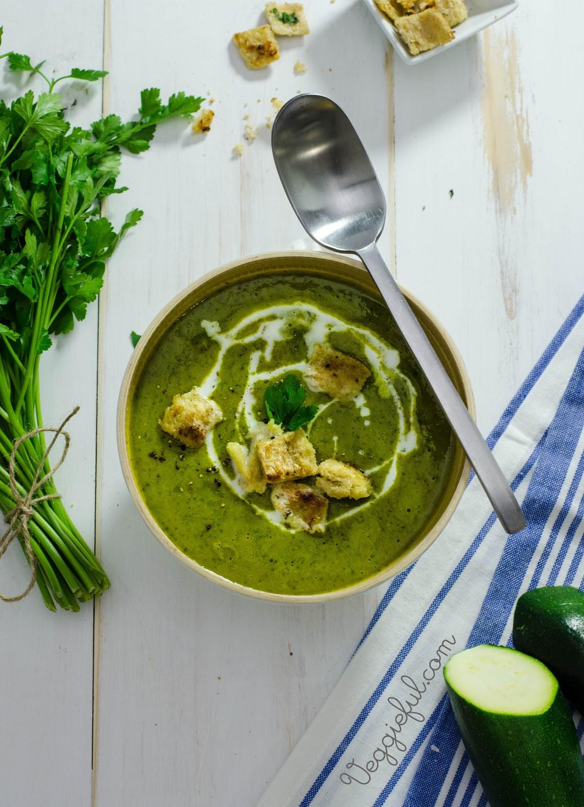 Simple Zucchini Soup Recipe — Dishmaps