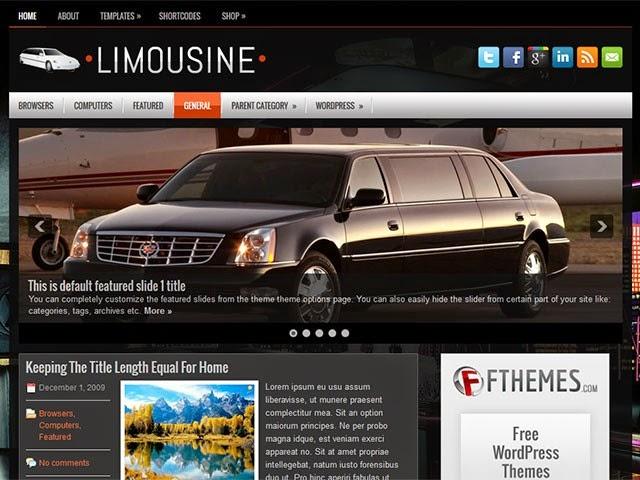 Limousine - Free Wordpress Theme