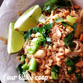 home made pad thai recipe