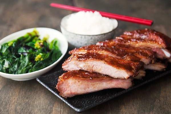 Grilled Pork Chop with Apple Juice - Sườn Nướng với Nước Táo