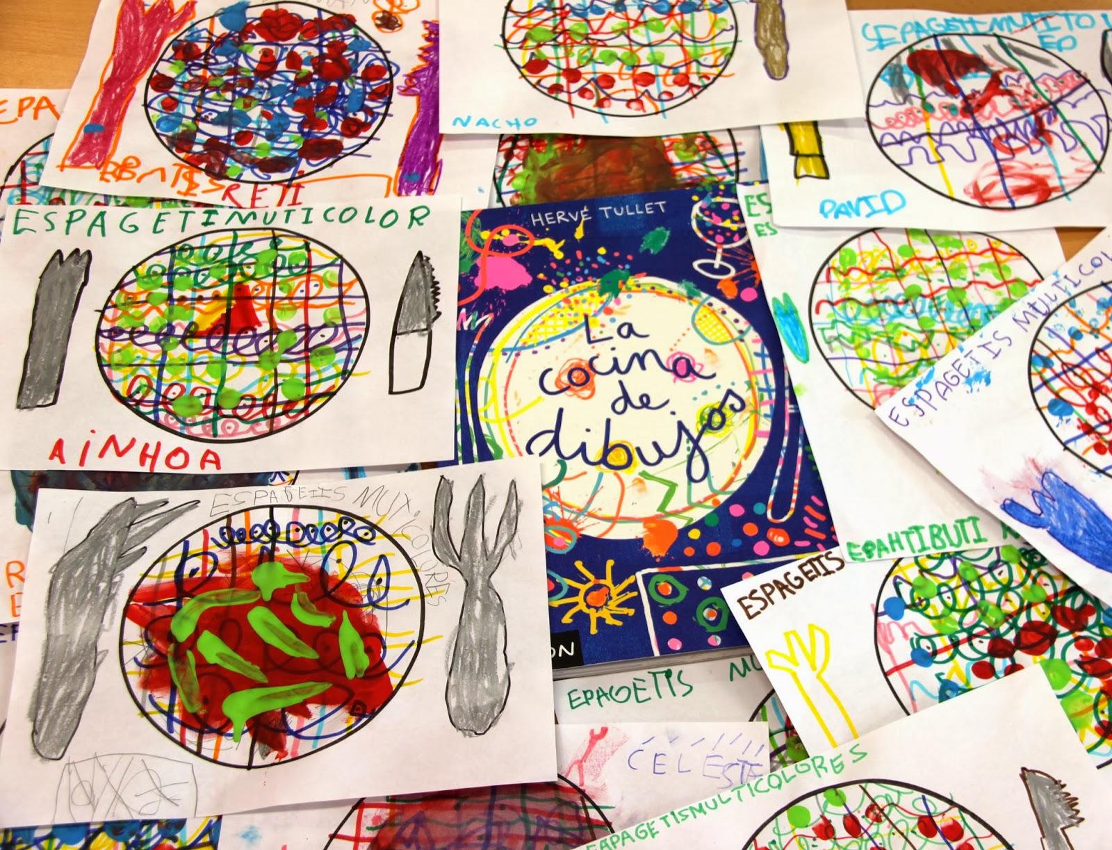 Blog infantil benamocarra la cocina de dibujos for Dibujos de cocina