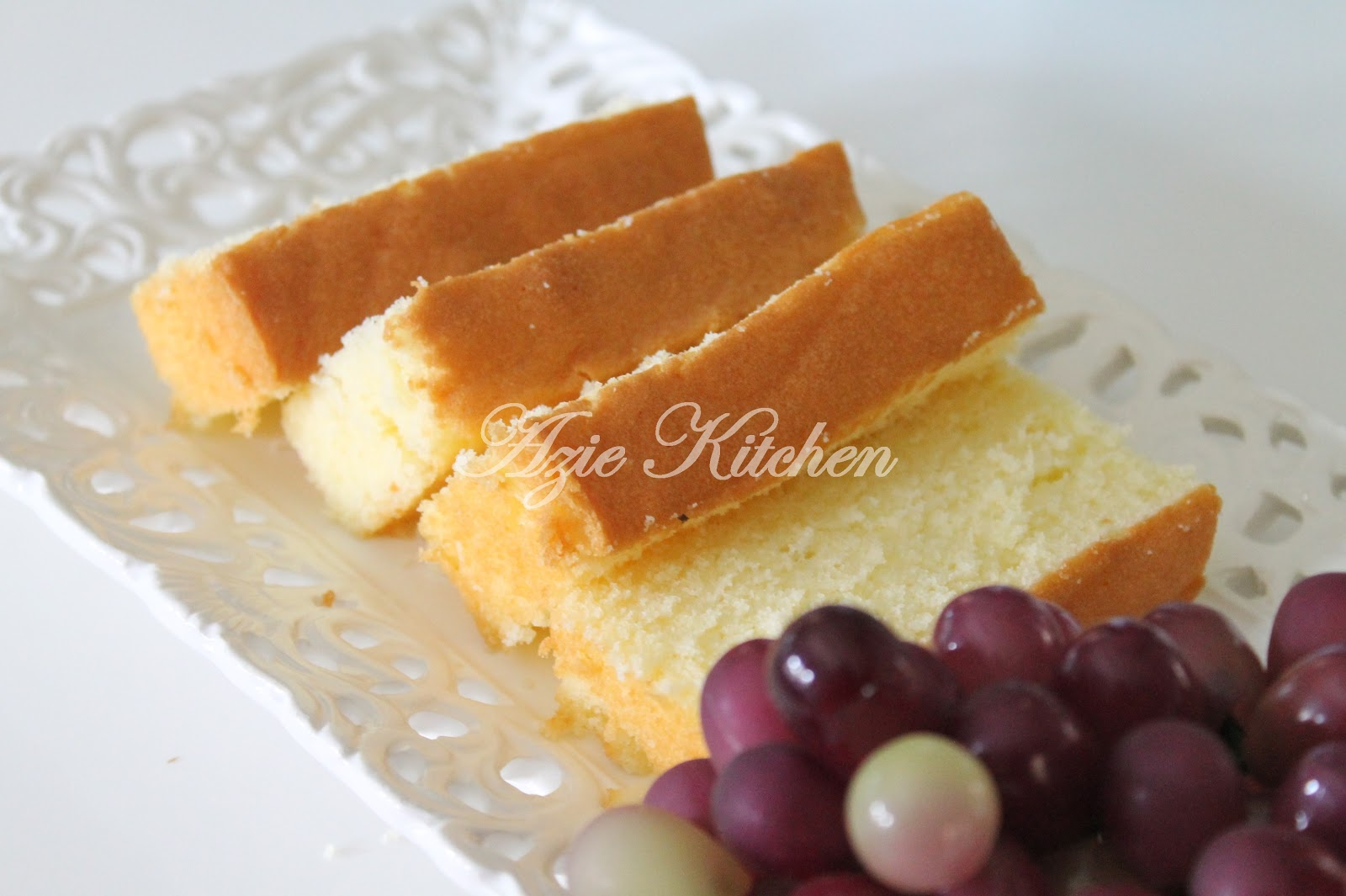 vanilla butter cake oleh azie kitchen bahan bahan 230gm butter salted