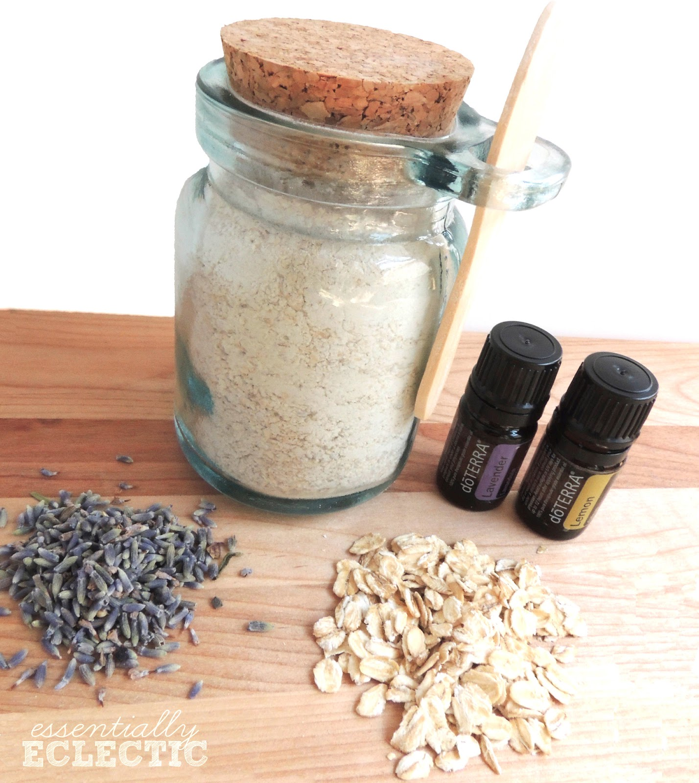 Lavender and lemon oatmeal mud mask recipe mom makes joy this relaxing oatmeal mud mask is made with ground oatmeal ground lavender buds pascalite solutioingenieria Images