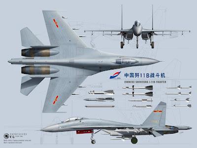 """هل يستحق  الوحش الصيني j 11  الانضمام للاسطول الجوي المصري """"نقاش"""" China%2527s+J-11B+Fighter+Jet"""