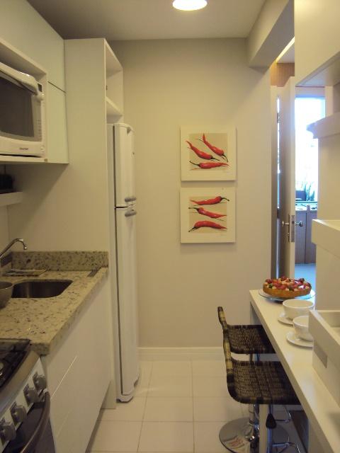 Cozinhas pequenas!  Jeito de Casa