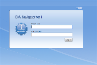 IBM Navigator for i login