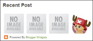 widget recent post dengan gambar (thumbnail) secara horizontal