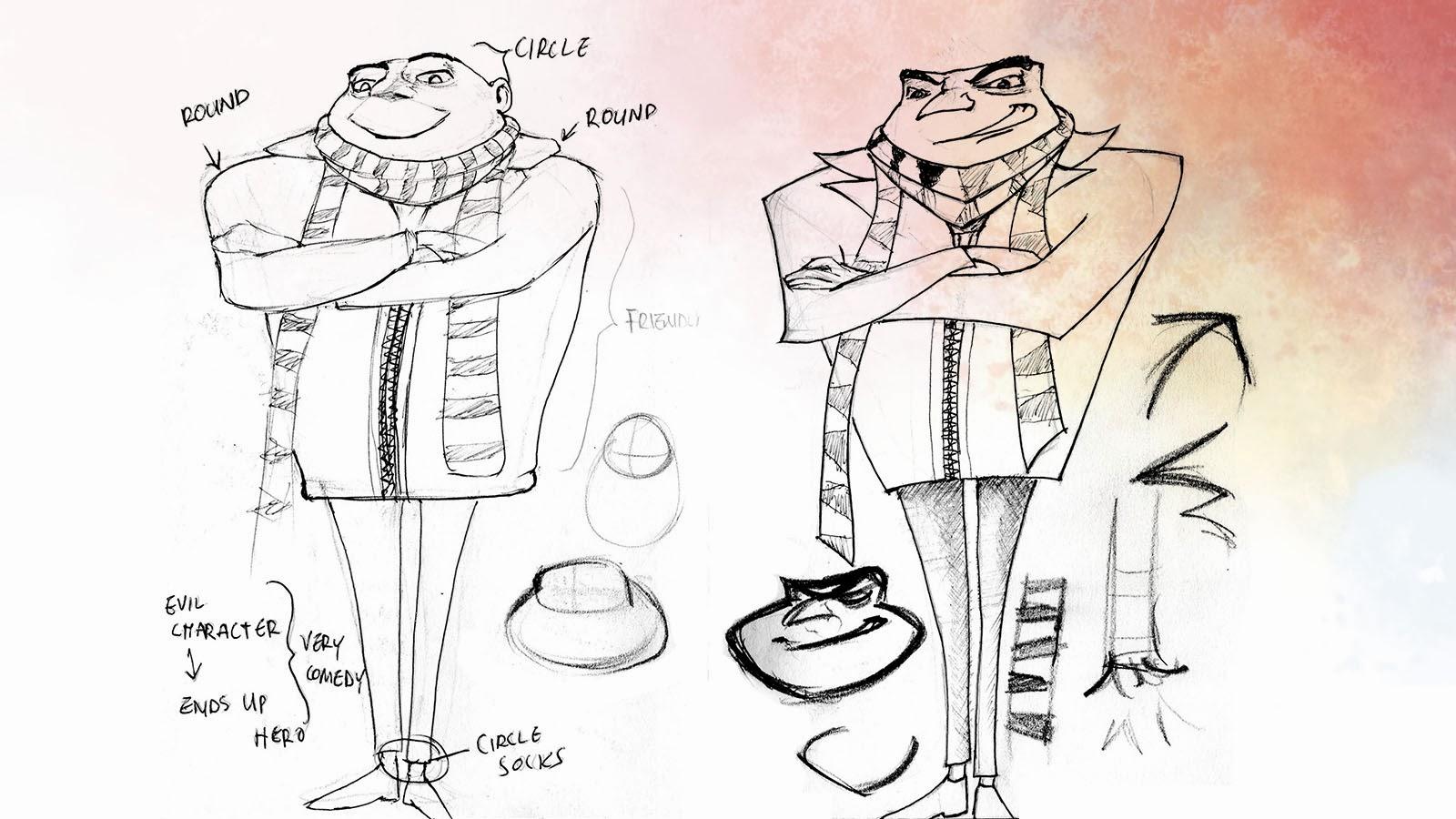 Character Design Proportions : Akinbiyi babarinde building blocks of character design