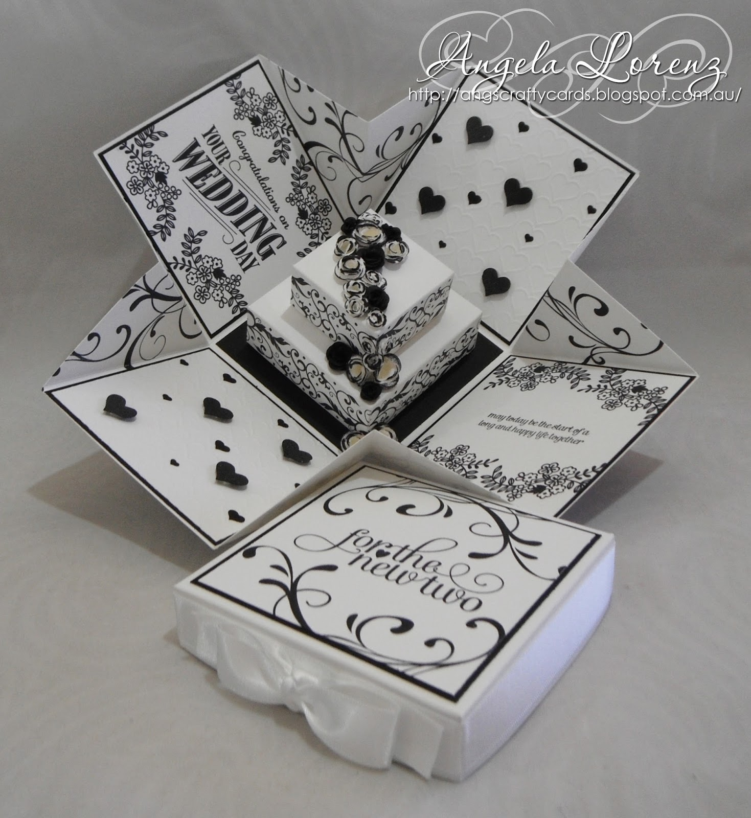 Exploding Box Invitation as amazing invitations layout