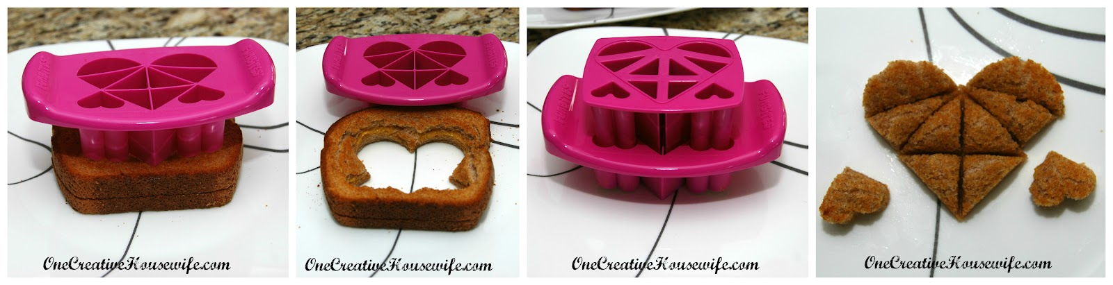 One creative housewife funbites heart cutter review for Funbites