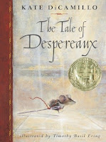 Cover of The Tale of Despereaux by Kate DiCamillo