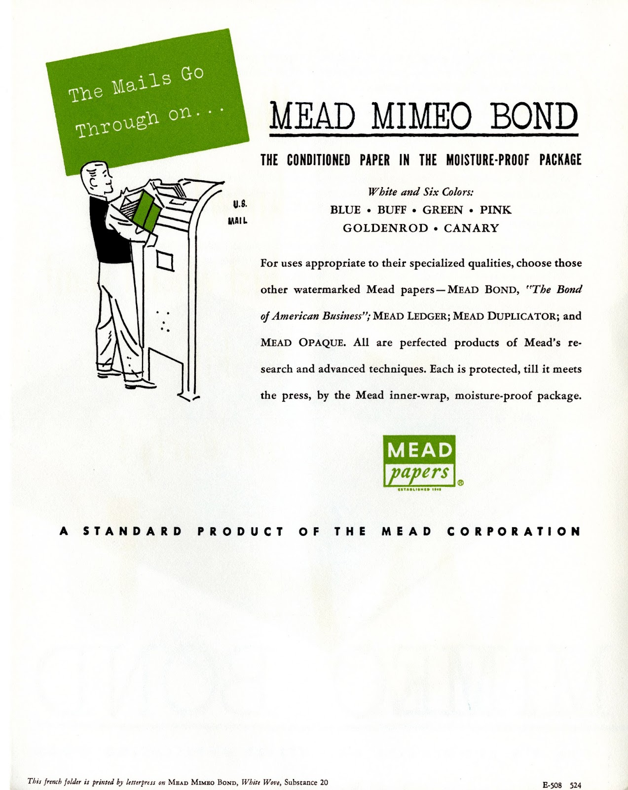 mead paper company The paper business wasn't hot then and has only gone down hill since, george ii said in 2014 some 35 mead family heirs share the fortune content continues below.