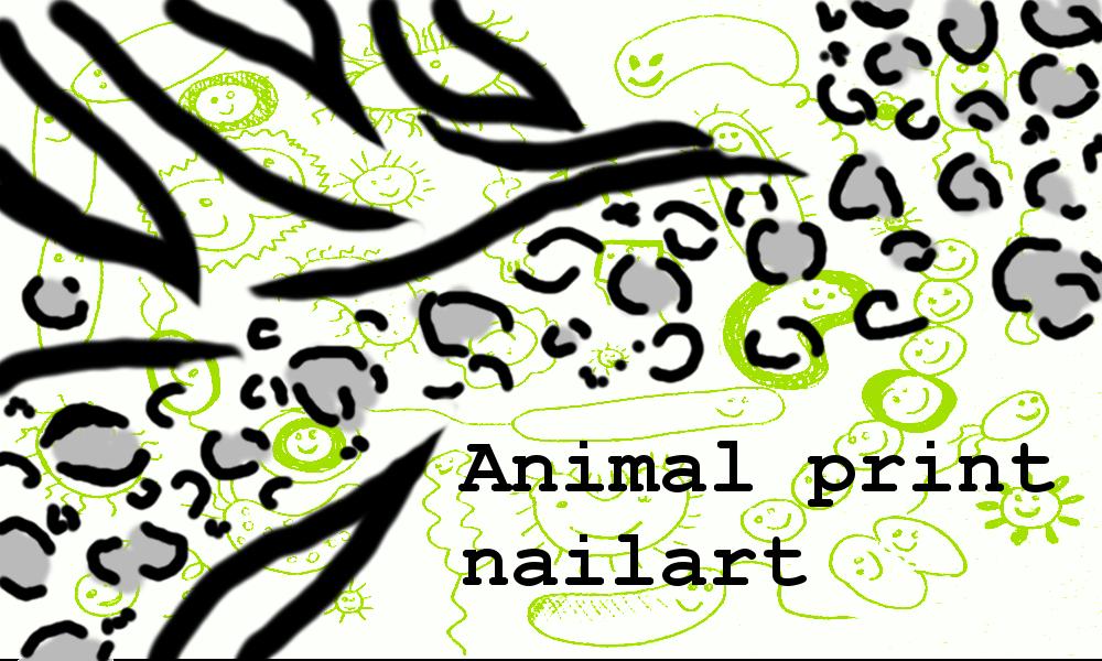 """Pomaluj w sobie zwierzę! Zdobienie paznokci """"animal print"""""""
